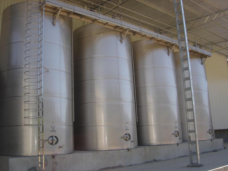 Tanque de Aço Inox para Leite